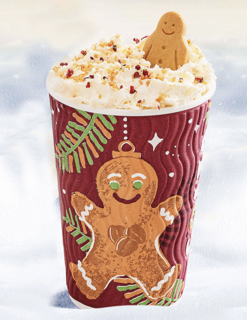 Festive drinks 2017 - Costa Gingerbread Latte
