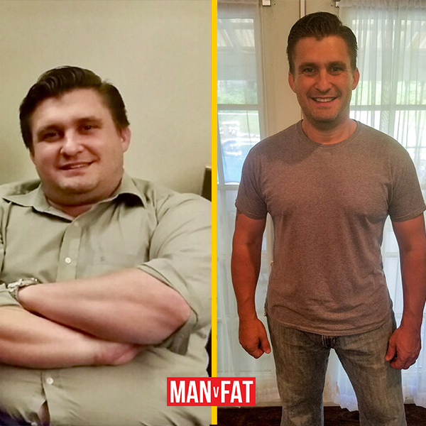 How to lose weight: Chris Dixon, down 105lbs