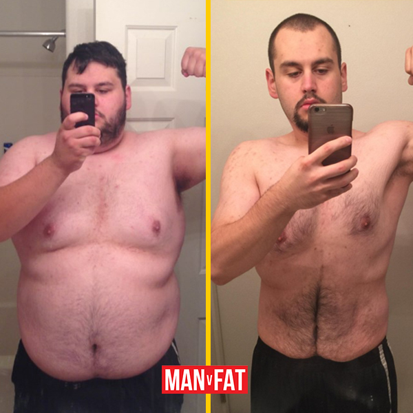 How to lose weight: Conrad Tayeri, down 164lbs