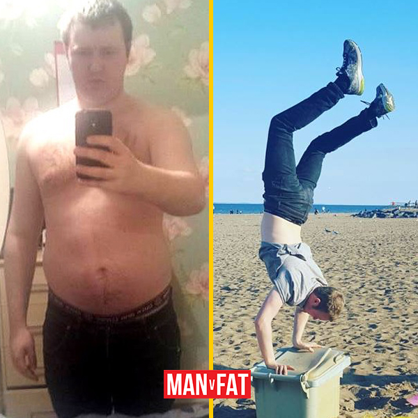 How to lose weight: Daniel Prodrick, down 62lbs