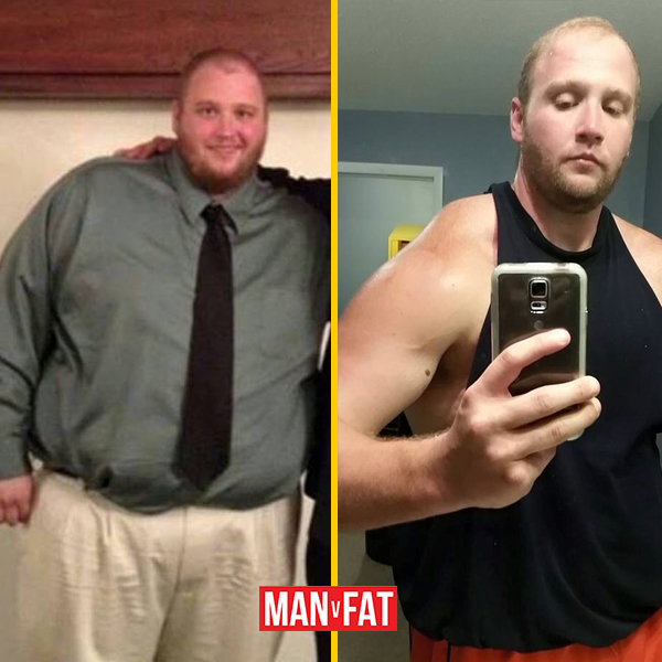 How to lose weight: Kyle Klobe, down 184lbs