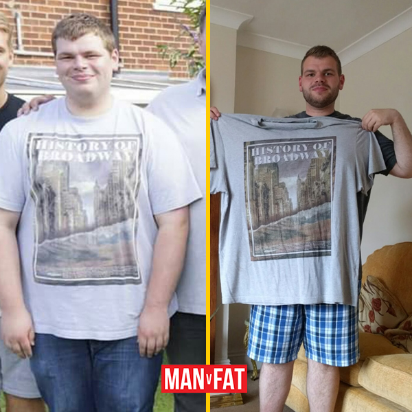 How to lose weight: Matt Wood, down 103lbs