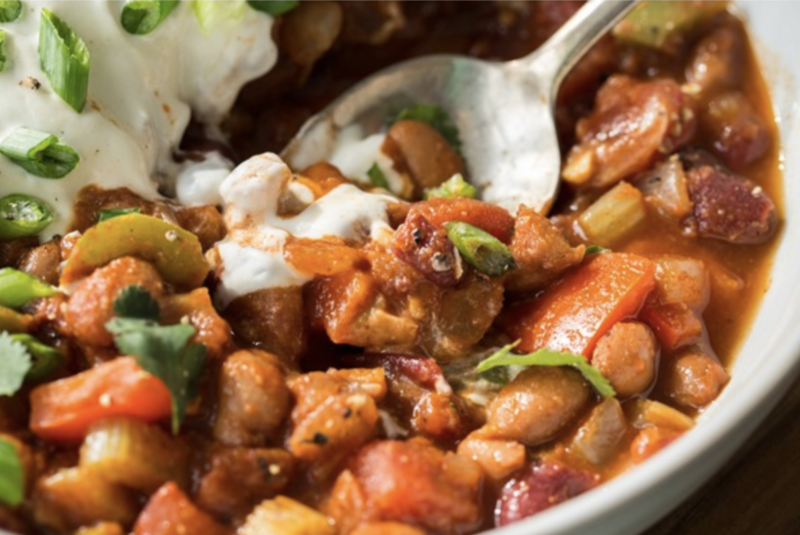 Amazing vegan recipes - Vegan chilli