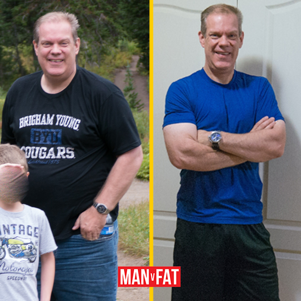 How to lose weight: Tim Powell, down 86lbs