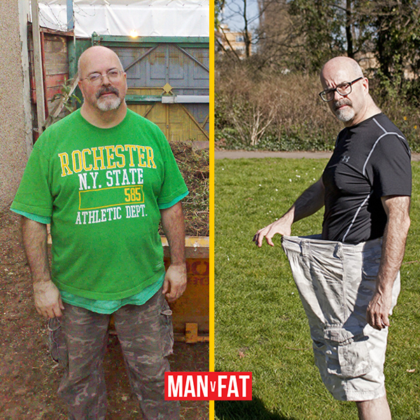 How to lose weight: Vince Millet, down 80lbs