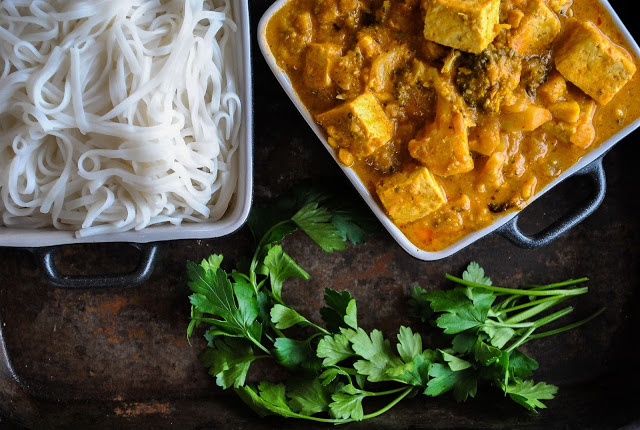 Amazing vegan recipes - vegan curry