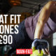 The MAN v FAT Ultimate Workout Playlist, plus WIN! BackBeat FIT 305 headphones worth £90