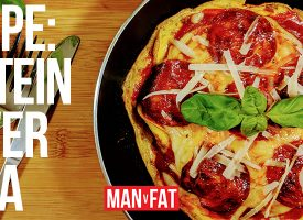 Recipe: Protein power pizza