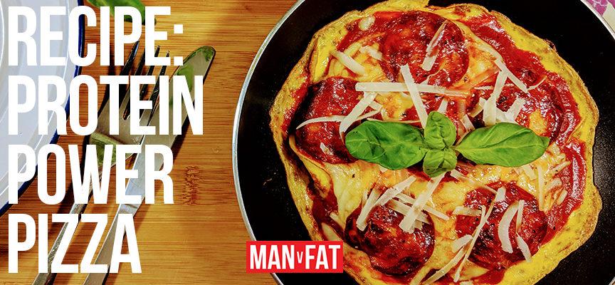 Recipe: Protein power pizza