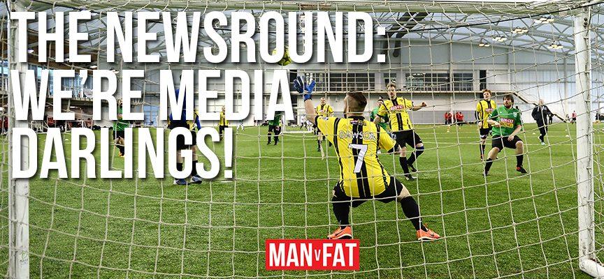 MAN v FAT Newsround 23/2/2018: Media darlings