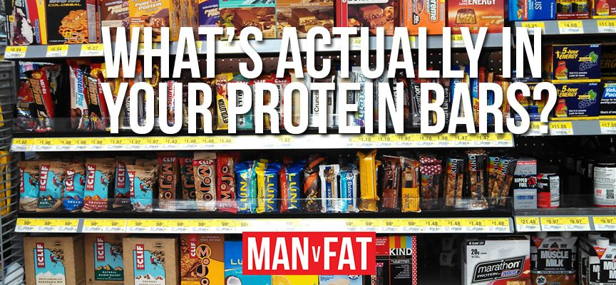 What's actually in your protein bars?