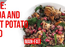 RECIPE: Quinoa and sweet potato salad