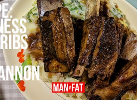 Recipe: Guinness beef ribs with colcannon mash
