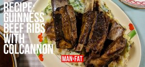 Photo: Recipe: Guinness beef ribs with colcannon mash