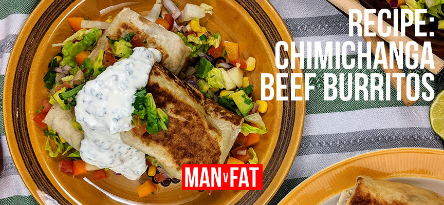Recipe: Chimichanga beef burritos