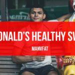 Photo: McDonald's Healthy Swaps: The MAN v FAT Swap Shop