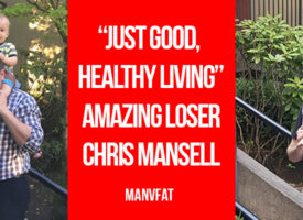 """It's just good, healthy living"" – Amazing Loser Chris Mansell"