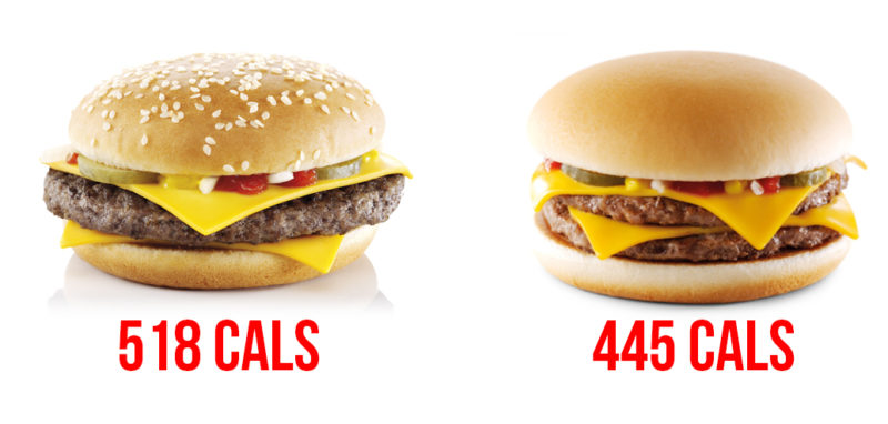 mcdonald's healthy swaps