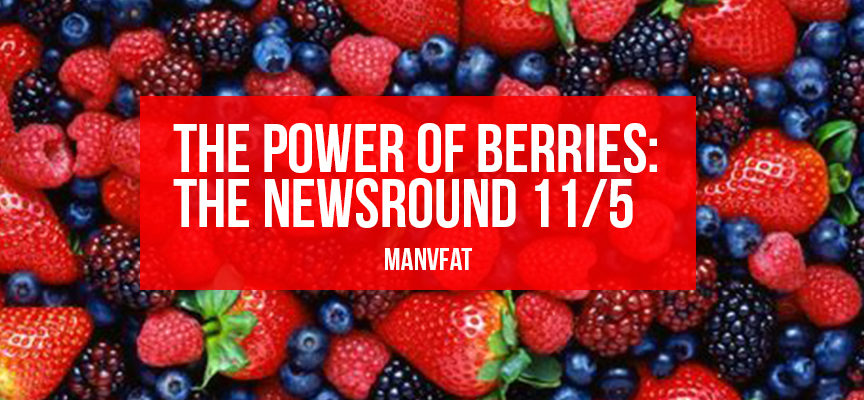 The power of berries: The MAN v FAT Newsround 11/5
