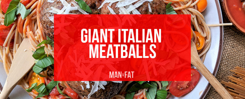 Recipe: Giant Italian meatballs