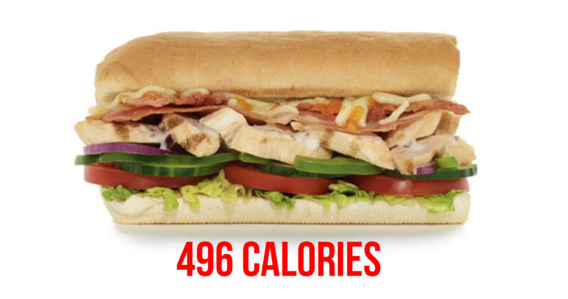 Subway healthy swaps