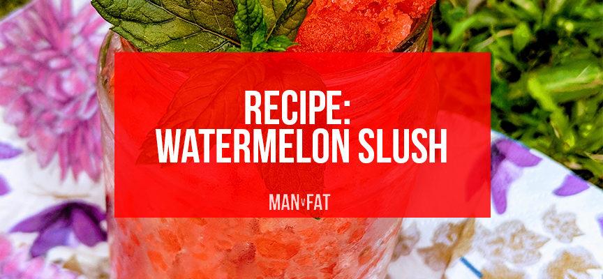 Recipe: Watermelon slush