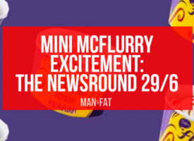 Mini McFlurry excitement | MAN v FAT Newsround 29/6/2018