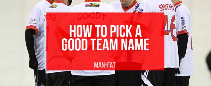 How to pick a good team name