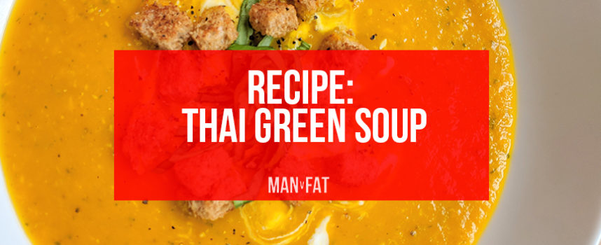 Recipe: Thai green soup