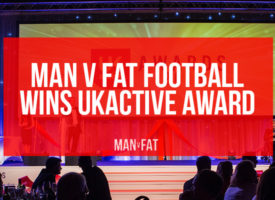 MAN v FAT Football wins ukactive award