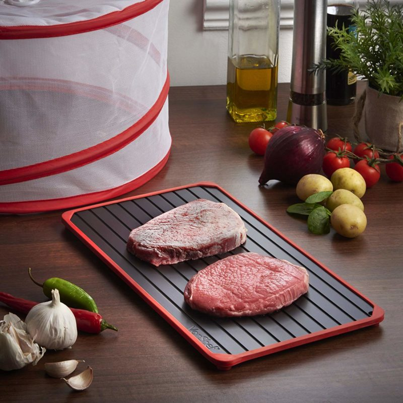 things that will make meal prep easier - defrost tray