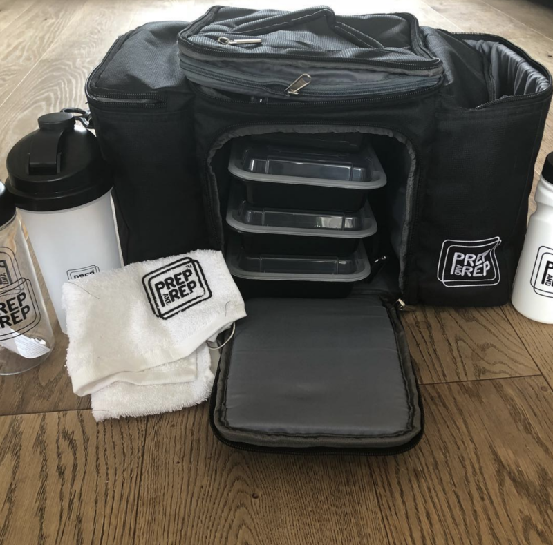 things that will make meal prep easier - Prep and Rep bag