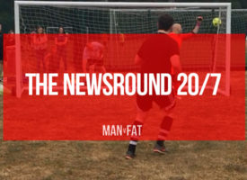 The MAN v FAT Football Good Guys: Newsround 20/7
