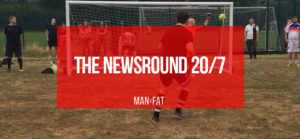 Photo: The MAN v FAT Football Good Guys: Newsround 20/7