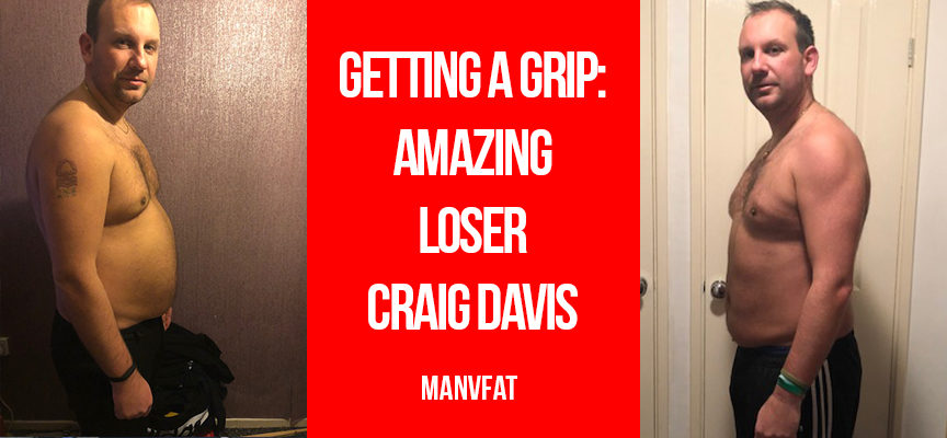 Getting a grip – Amazing Loser Craig Davis