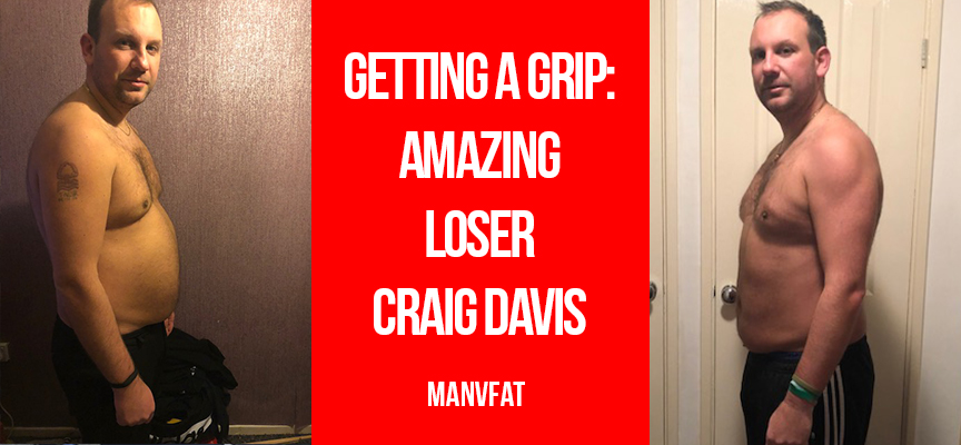 Getting a grip - Amazing Loser Craig Davis