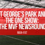 Photo: MAN v FAT Football St George's Park on the One Show! | Newsround