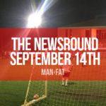 Photo: G'day Australia! The MAN v FAT Newsround 14th September