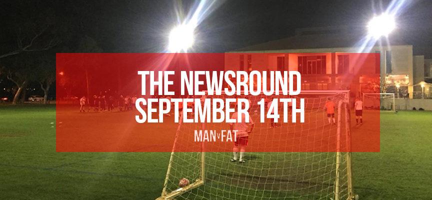 G'day Australia! The MAN v FAT Newsround 14th September