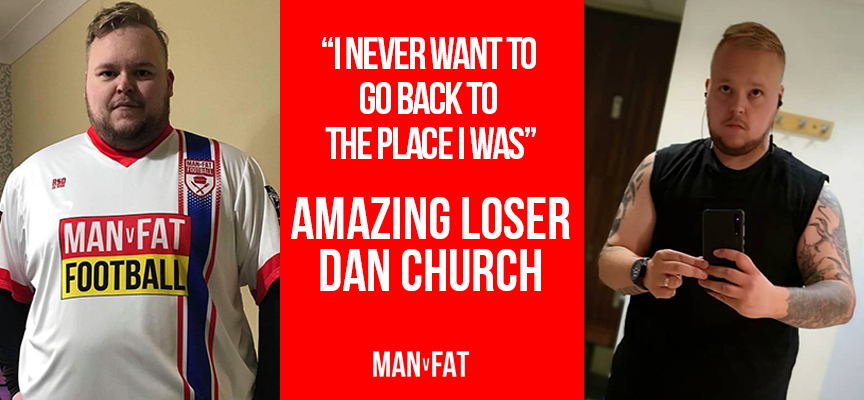 Dan v Fat - Amazing Loser Dan Church