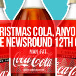 Photo: Christmas cola, anyone? The MAN v FAT Newsround 12th October