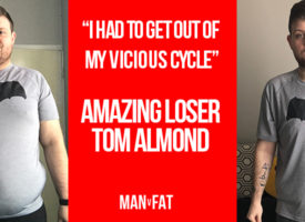 """I had to get out of my vicious cycle"" – Amazing Loser Tom Almond"