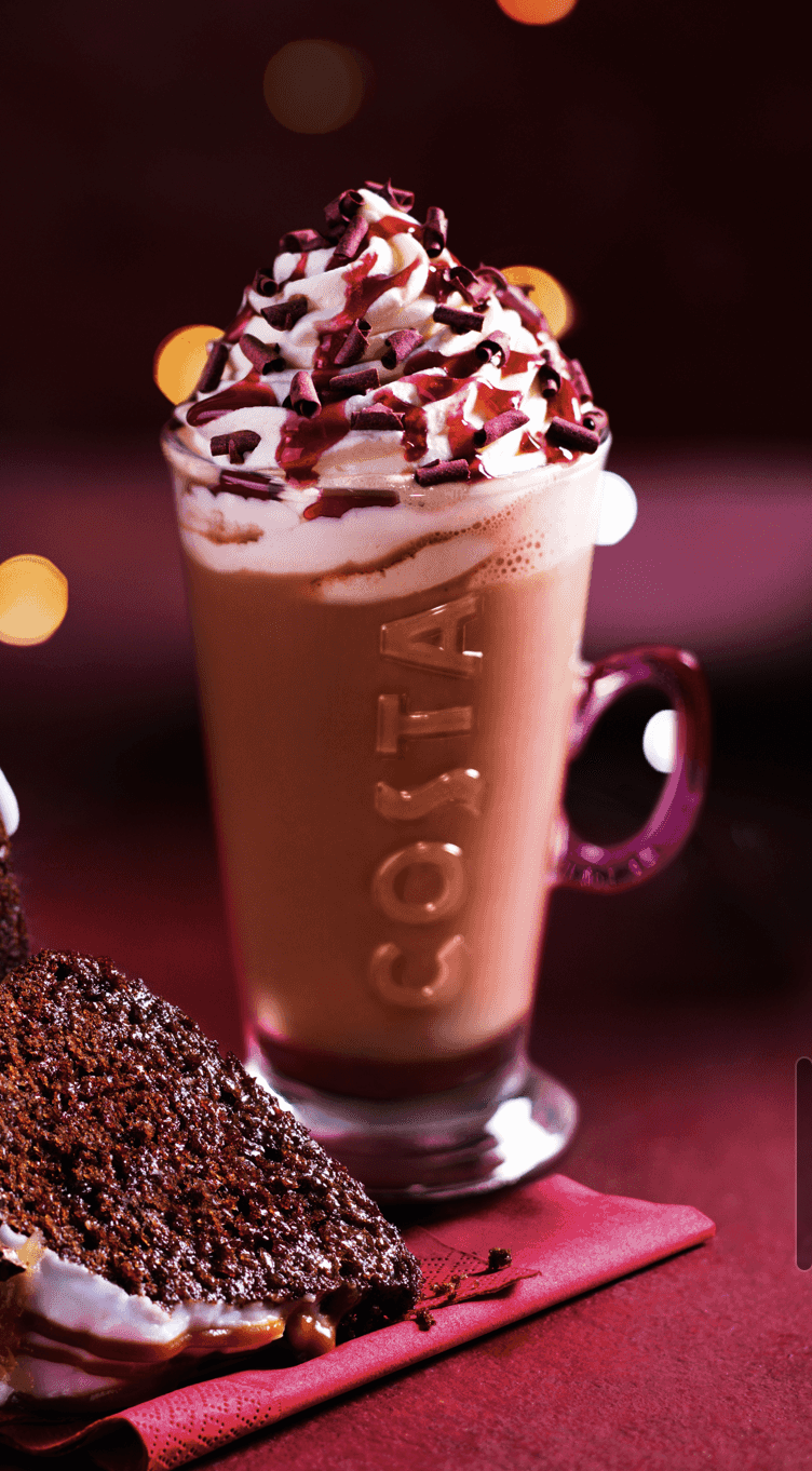 How Many Calories In Costa And Starbucks Christmas Coffees