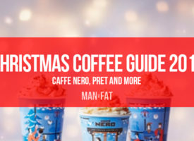 How many calories in Christmas coffees from Caffe Nero and Pret?