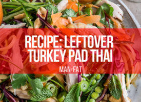 RECIPE: Leftover turkey pad thai
