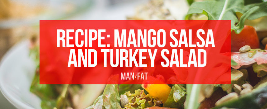 RECIPE: Mango salsa and turkey salad