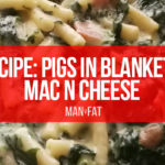 Photo: Recipe: Pigs in blankets mac n cheese