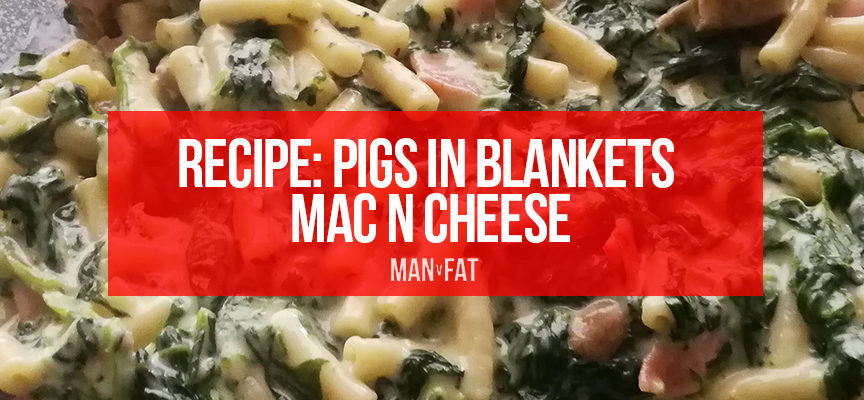 Recipe: Pigs in blankets mac n cheese