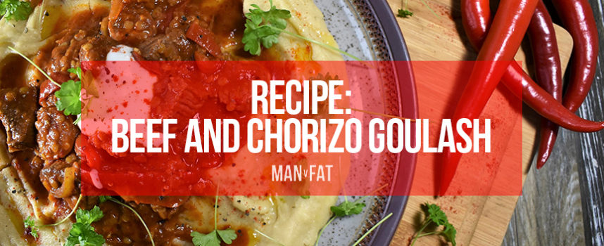 Recipe: Beef and chorizo goulash