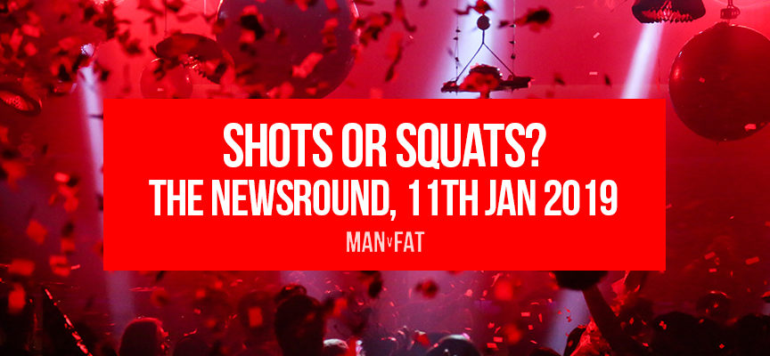 Shots or squats? – the MVF Newsround 11/1/19
